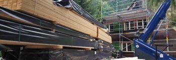 Rückbau Dachstuhl